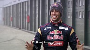 Red Bull On Stage With Scuderia Toro Rosso - Daniel Ricciardo Interview
