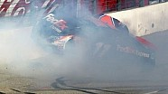 Hamlin last lap Auto Club 400 crash