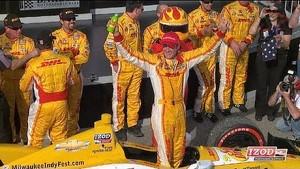 Drivers on the 2013 Honda Indy Grand Prix of Alabama