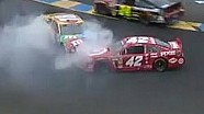 Montoya Spins Out Kyle Busch | Sonoma, 2013