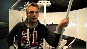 Simulator time for Giedo van der Garde