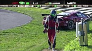 2013 Lime Rock - Risi Ferrari Crash - ALMS - Tequila Patron - ESPN - Racing - Sports Cars