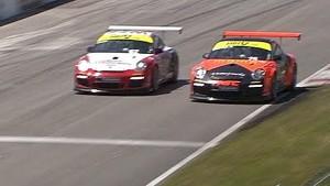 Close Finish at CTMP - Snow & Benitez - Porsche IMSA GT3 Cup