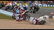 Andrea Antonelli fatal crash World Superbikes weekend Moscow 2013