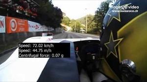 Onboard Hillclimb St. Ursanne - Les Rangiers 2012 - Osella FA 30 - V8 3.0 - Marcel Steiner