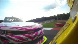 NASCAR Regan Smith spins out | Mid-Ohio (2013)