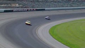 Final Laps of the Pure Michigan 400