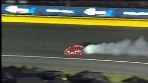 NASCAR Mark Martin blows engine early | Charlotte Motor Speedway (2013)