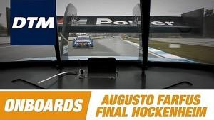 Onboard Augusto Farfus BMW M3 DTM - DTM Race Final Hockenheim