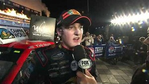 NASCAR Ty Dillon in victory lane | Texas Motor Speedway (2013)