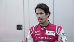 Lucas di Grassi on the new Audi R18 e-tron quattro