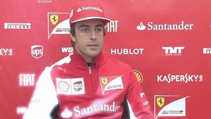 F14 T - Interview with Fernando Alonso