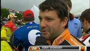 Kurt Busch and Tony Stewart after Dover.