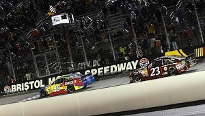 Edwards wins wild one at Bristol