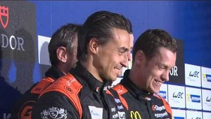 LMP2 Winners of WEC 6 Hours of Spa-Francorchamps on the podium