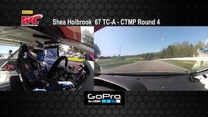 CTMP 2014 - Shea Holbrook On Board Highlights of Round 4 TC-A