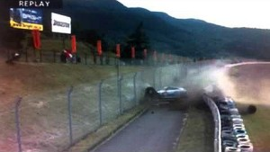 Vicious Super GT crash