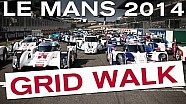 Awesome Le Mans 2014 Grid Walk! - LM P1, LM P2, LM GTE #LM24 #LEMANS