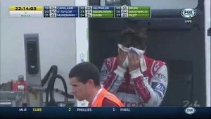 #3 Audi and #8 Toyota crash heavily - Le Mans 2014