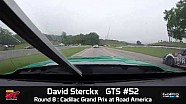 PWC 2014 Road America On Board Highlights of David Sterckx Round 8 GTS