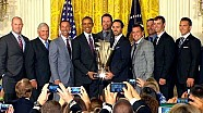 President Obama honors Jimmie Johnson at The White House