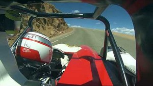 Pikes Peak 2014 Winner : Romain Dumas onboard