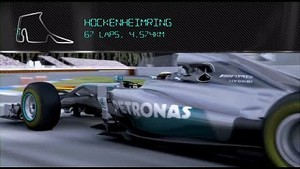 Hockenheim: On Board with Lewis Hamilton in the F1 Simulator!