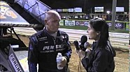 World of Outlaws STP Sprint Car Series Victory Lane Interviews at Lincoln Speedway