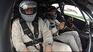 Hockenheim Hot Lap with Nico Rosberg in the Mercedes-Benz DTM Beast!