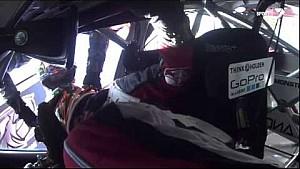 Luff & Lowndes go airborne: 2014 Bathurst 1000 practice