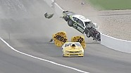 Deric Kramer spectacular Pro Stock crash at NHRA Vegas