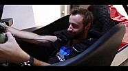 A day with James Hinchcliffe at the Honda Simulator.