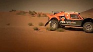 Ronan Chabot in the hills of Morocco preparing for DAKAR 2015