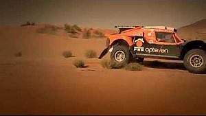 Ronan Chabot in the hills of Morocco preparing for DAKAR 2015