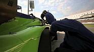 Krohn Racing Ligier JS P2-Judd Test at Daytona December 2014