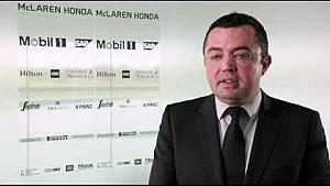 Interview with racing director of McLaren Racing, Eric Boullier