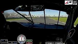 GB Autosport Narrow Escape, 2015 Rolex 24 at Daytona