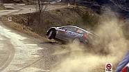 Rallye Monte Carlo 2015 crash Ott Tanak Ford Fiesta WRC