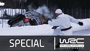 Rally Sweden 2015: Action Compilation