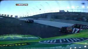 2008 Las Vegas - Jeff Gordon crash
