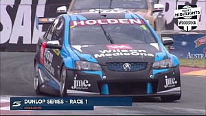 Clipsal 500 - Race 1 Dunlop Series Woodstock Highlights