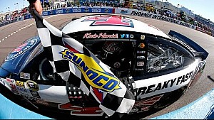 Seventh heaven: Harvick deals in the desert