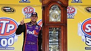 Clock strikes five for Hamlin at Martinsville
