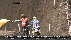 Antonio Cairoli crash MXGP of Patagonia Argentina 2015
