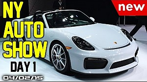2015 New York Auto Show Day 1 - Fast Lane Daily