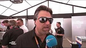 Long Beach ePrix - Michael Andretti interview