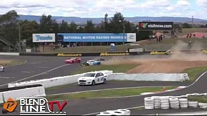 Nasty Production Sports crash at Bathurst