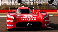 Nissan GT-R LM NISMO's first presentation at WEC track