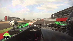 FIA WEC In Car Go Pro Lap Around Circuit Silverstone with Tequila Patrón ESM