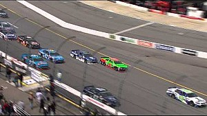 Danica involved in multiple incidents - Richmond 2015